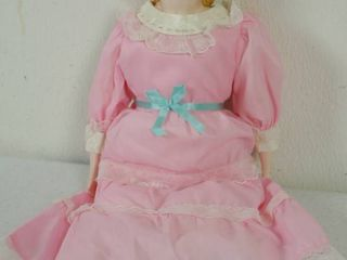 Vintage Very Pretty Porcelain Doll
