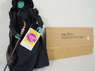 Collectible  Wizard of OZ  The Wicked Witch Doll  Item  3862