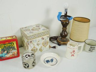 lot of MIsc  House Hold Goodies   lamp  etc  See Photos