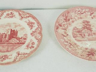 2 Vintage Plates   Plate on the left    Johnson Bros   England    Plate 2 on the Right  Festival   Japan