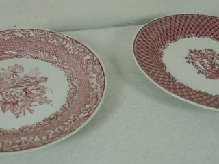 2 Vintage Plates   Plate on the left    Spode Archive Collection   Victorian Series  C 1832    Plate on the Right  Spode Archive Collection   Victorian Series C 1835