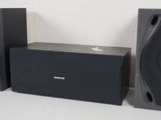 lot of 3 Home Speakers   2 RCA s     RP 8530   a ONKYO   SKC 200C