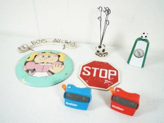 Wall Hanging Sign  No Boys Allowed  2 3D View Masters   More  See Photos