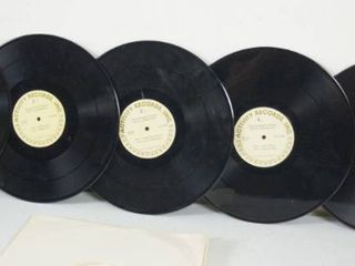 lot of 5 12  Vintage Records   learning Phonics Records  See Photos