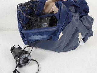 Blue Air Blow  Up Mattress  See Photos