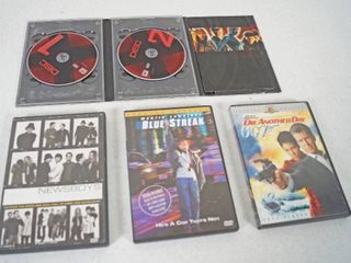 lot of   DVD Movies  Evil  Newsboys  Blue Streak  Die Another Day 007