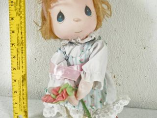 Vintage Collectible  Precious Moments  1990 Mother s Day Edition w  Stand