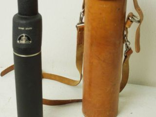 Argus Spotting Scope  Made in the U S A  Super Grade   11923 with leather Case