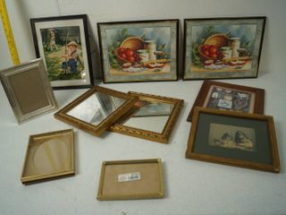 lot of Vintage Picture Frames  Pretty Cool Pictures  See Photos