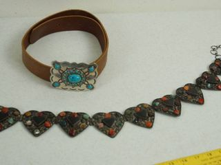 2 Pretty  Women s Belts  1  is leather  Medium  See Photos
