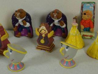 lot of Disney Plastic Figurines  See Photos