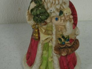 Christmas Santa Claus Musical Figurine  Midwest Importer  Made in Taiwan