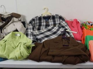 lot of Women s Clothing   Jackets   See Photos