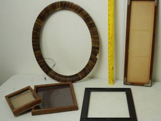 lot of 5 Picture Frames