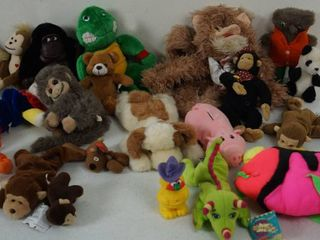 lot of Stuffed Animals   Fish  Bears  Turtles and More