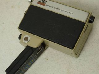 Vintage Kodak Hawkeye Instamatic Video Camera  Model B