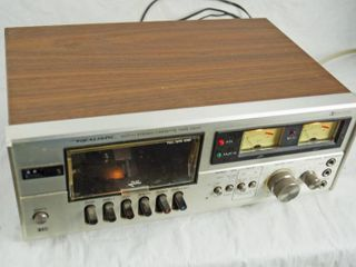 Vintage Realistic Stereo Cassette Tape Deck Player   M  SCT 11