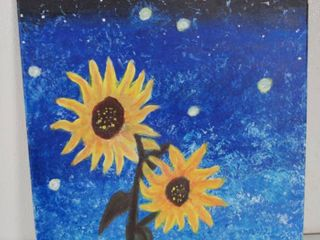 Beautiful Sunflower Painting  Wall Hanging Picture