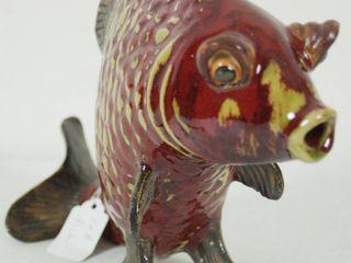 Red Fish Aquarium Decor