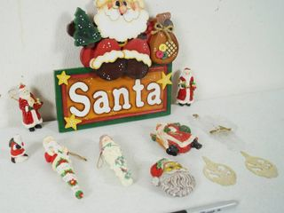 lot of Christmas Decor and Ornaments