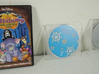 lot of 3 DVD s   Walt Disney s Poohs Halloween and A Charlie Brown Christmas  and Charlotte s Web