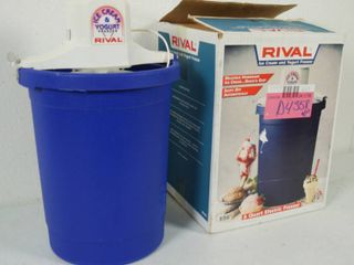 Rival Ice Cream Maker  6 Quart