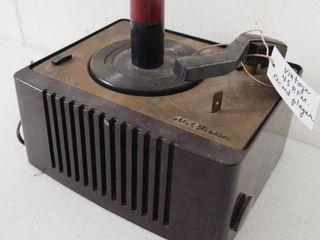 Vintage RCA Victorola Record Player   45 RPM  45EY 2