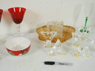 lot of Glassware See Photos