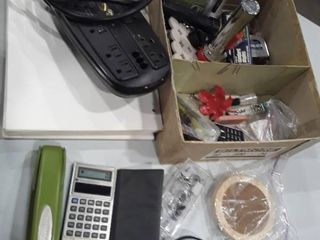 lot of office items  See pictures