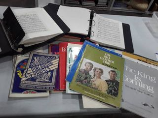 Music Books and Hymnals