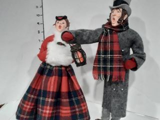 2 Simpich Christmas Character Dolls