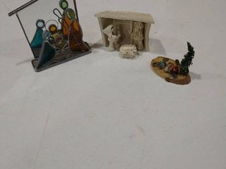 Assorted Nativity displays