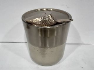 Brass Ice Bucket with Scoop
