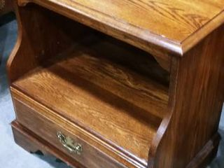 Pennsylvania House wooden 1 drawer nightstand 25 x 24 x 13 in