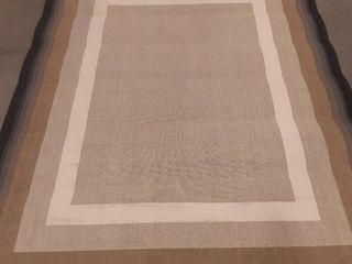 Style Selections indoor outdoor rug lt Cottage 91 x 120 in