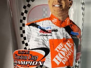 large Collection of Tony Stewart Memorabilia and Collectibles   Home Depot   more