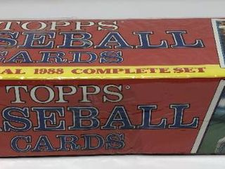 Complete Factory Sealed 1988 Topps Set   792 Baseball Cards   With Mint Tom Glavine Rookie