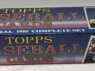 Complete Factory Sealed 1989 Topps Set   792 Baseball Cards   With Mint Randy Johnson Rookie
