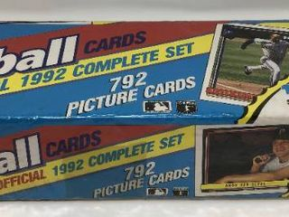 Complete Factory Sealed 1992 Topps Set   792 Baseball Cards