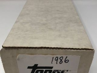 Complete 1986 Topps Set   792 Baseball Cards   Near Mint to Mint Condition Set
