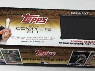 Complete 2012 Topps Set in Factory Set Box  1 660   660 Total Baseball Cards