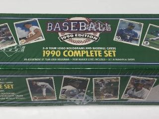 Complete Factory Sealed 1990 Upper Deck Set   800 Baseball Cards   With Sammy Sosa Rookie Card