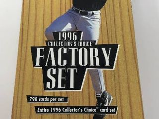 Complete 1996 Upper Deck Collector s Choice Set   790 Baseball Cards