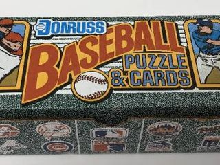 Complete Factory Sealed 1990 Donruss Set   660 Baseball Cards   Included Sammy Sosa Rookie Card