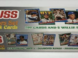 Complete Factory Sealed 1991 and 1992 Donruss Set   792 Baseball Cards In Each Set
