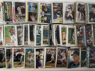 Over 30 Complete Team Sets of Houston Astros   Complete Topps Run of sets from 1980 2014