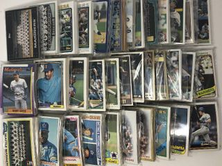Over 30 Complete Team Sets of Seattle Mariners   Complete Topps Run of sets from 1980 2014 Including Ken Griffey Jr Cards