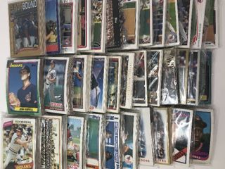 Over 30 Complete Team Sets of Cleveland Indians   Complete Topps Run of sets from 1980 2014