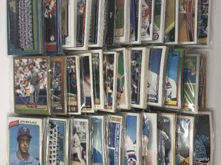 Over 30 Complete Team Sets of Texas Rangers   Complete Topps Run of sets from 1980 2014