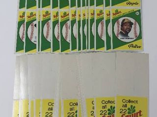 Dozens of Squirt Baseball Trading Cards   Including George Brett and More